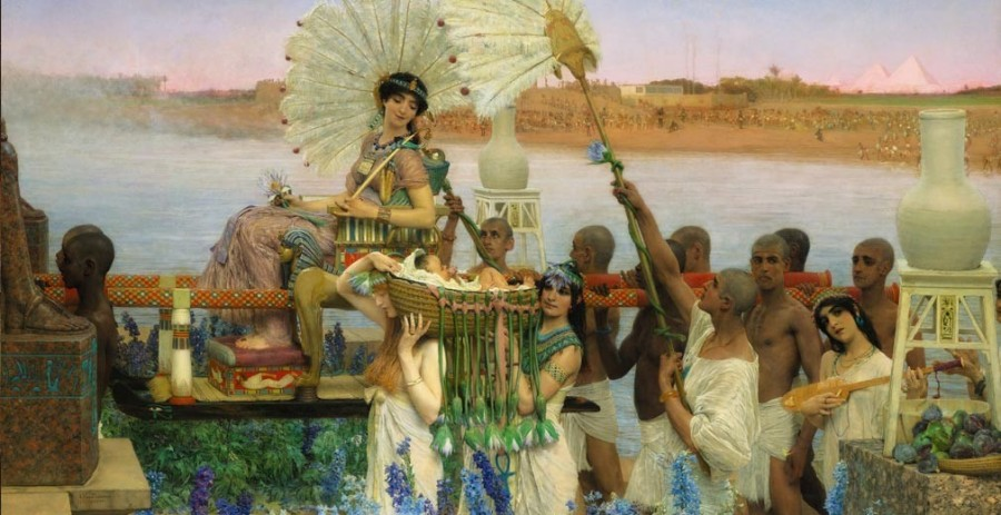 The Finding of Moses (Lawrence Alma-Tadema, 1904)
