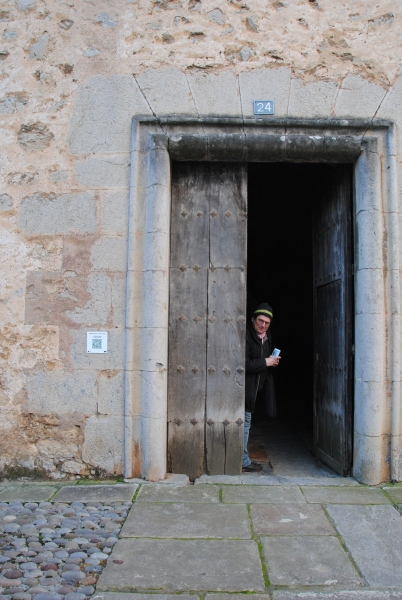 Dirk Gotzmann of Civilscape visits the pilgrim chapel of Markina-Xemein.