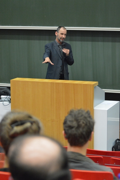 Wolfgang Ernst (photo: Oliver Taenzer)