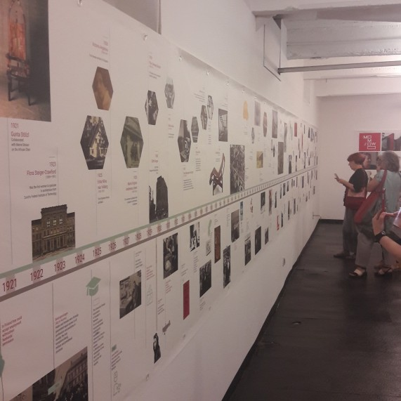 The Chromomowo at the travelling exhibition
