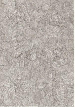 Hans Scholze, 81-08, ink drawing, 1981, 21 x 14 cm