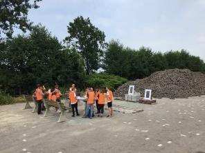 Presentation 'tijdsteen / steentijd' by Designer Jos Klarenbeek