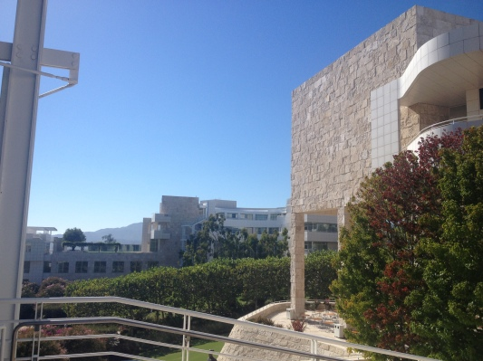 Fig. 2 View of the Getty Research Institute, Los Angeles