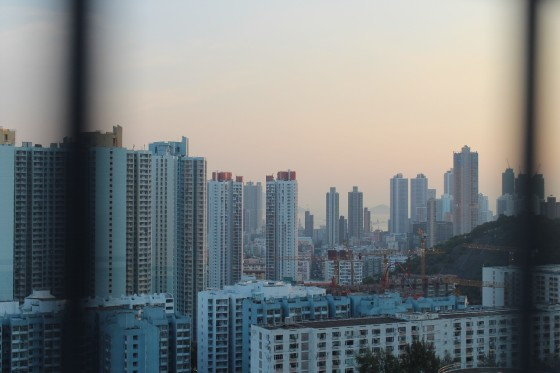 View from the CityU Student Residence rooftop
